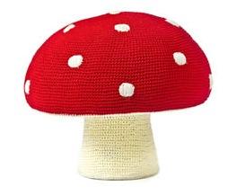 Mushroom pouffe prod